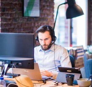 Le VPN permet à l'employer d'accéder en toute transparence au réseau de l'entreprise