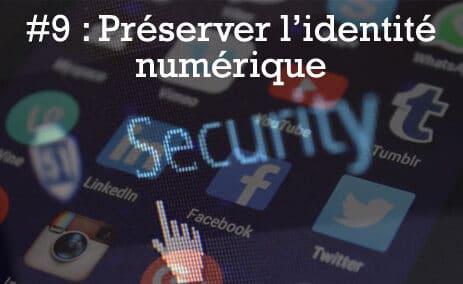 Préserver l'identité numérique